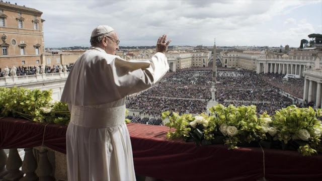 El papa pide una salida justa y humana a la crisis de Venezuela
