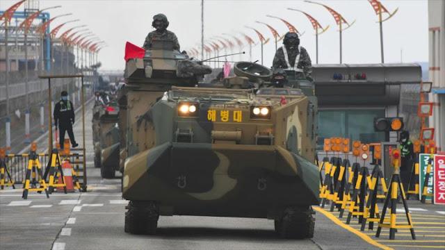 EEUU y Corea del Sur realizan ejercicios militares conjuntos