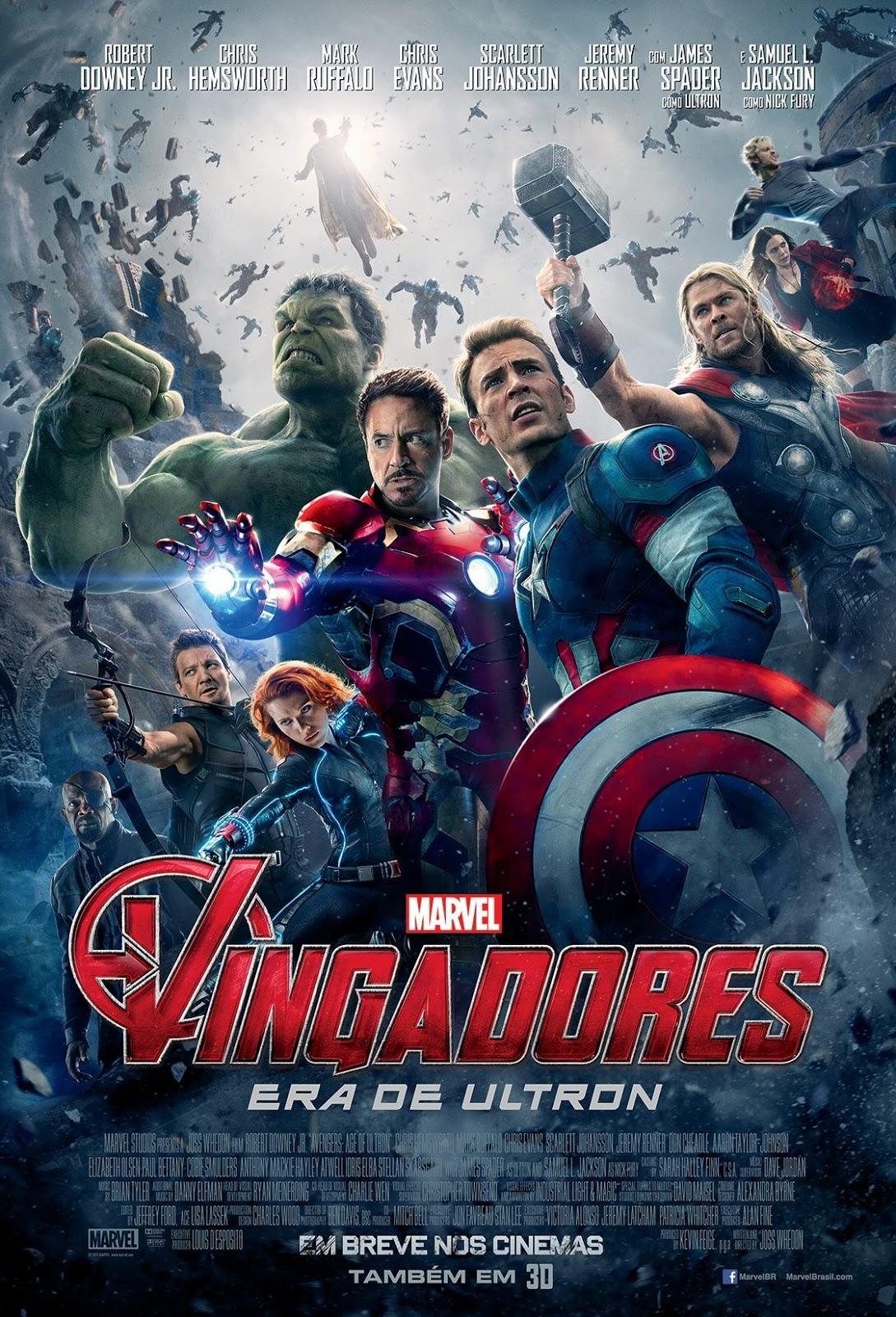 Download Os Vingadores: Era de Ultron - Dublado MP4 720p / 480p BDRip MEGA