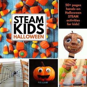 STEAM Halloween Activities for Home or School