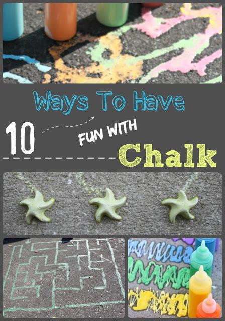 sidewalk chalk activtiies