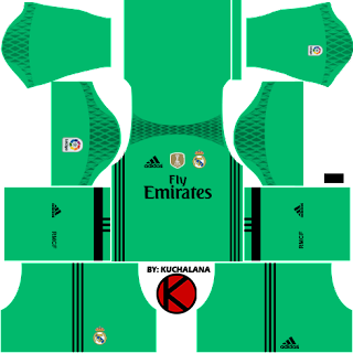 Real Madrid Kits 2016/2017 - Dream League Soccer 2017