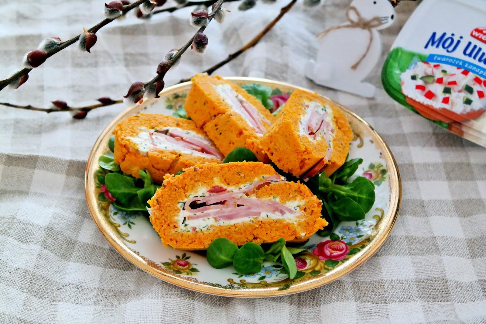 rolada z marchewki