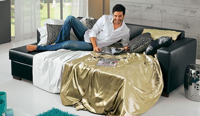 Arredo a modo mio il divano letto orlando moderno ed for Divano letto moderno