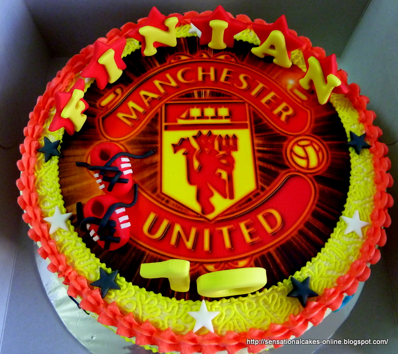 Cakes2share Singapore Manchester United Cake Singapore