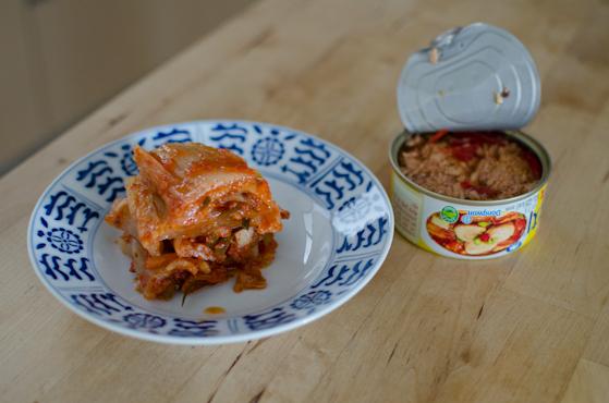Korean Recipes Kimchi Tuna Rice Patties and Balls - All ...