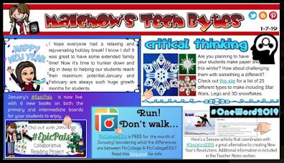 "Sarah Malchow's newsletter, ""Malchow's Tech Bytes"""