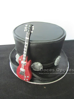 Slash Guns n Roses Birthday Cake