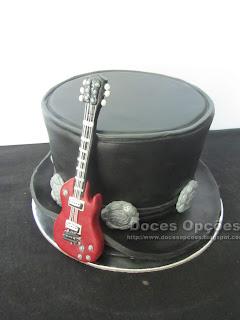Slash Guns n Roses Birthday Cake