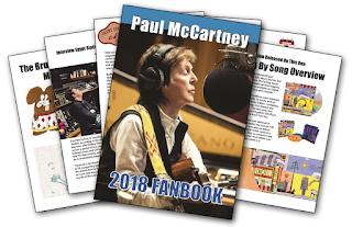 Paul McCartney 2018 Fanbook
