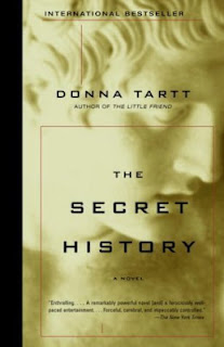 The Secret History by Donna Tartt - book cover