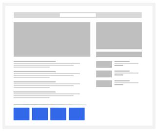 Đơn vị quảng cáo nội dung phù hợp trong Google Adsense