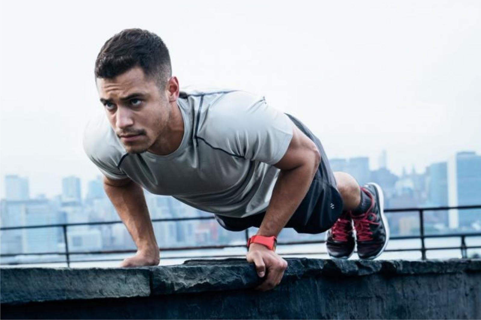 Manfaat Push Up dan Plank Bagi Kesehatan Kita