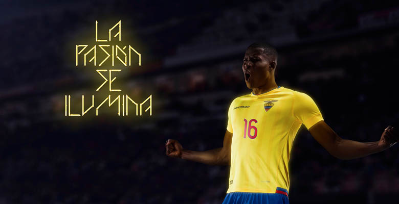 0f451c682 The new Marathon Sports Ecuador 2018 World Cup Qualifiers Jerseys introduce  modern design for the South American national team