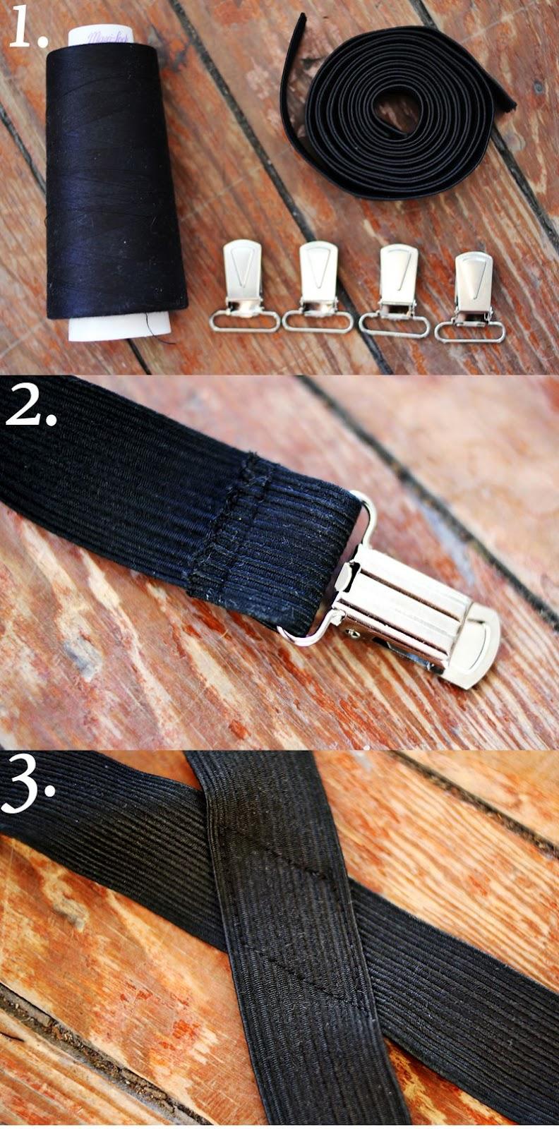 tirantes, suspenders, costura, sewing, diys