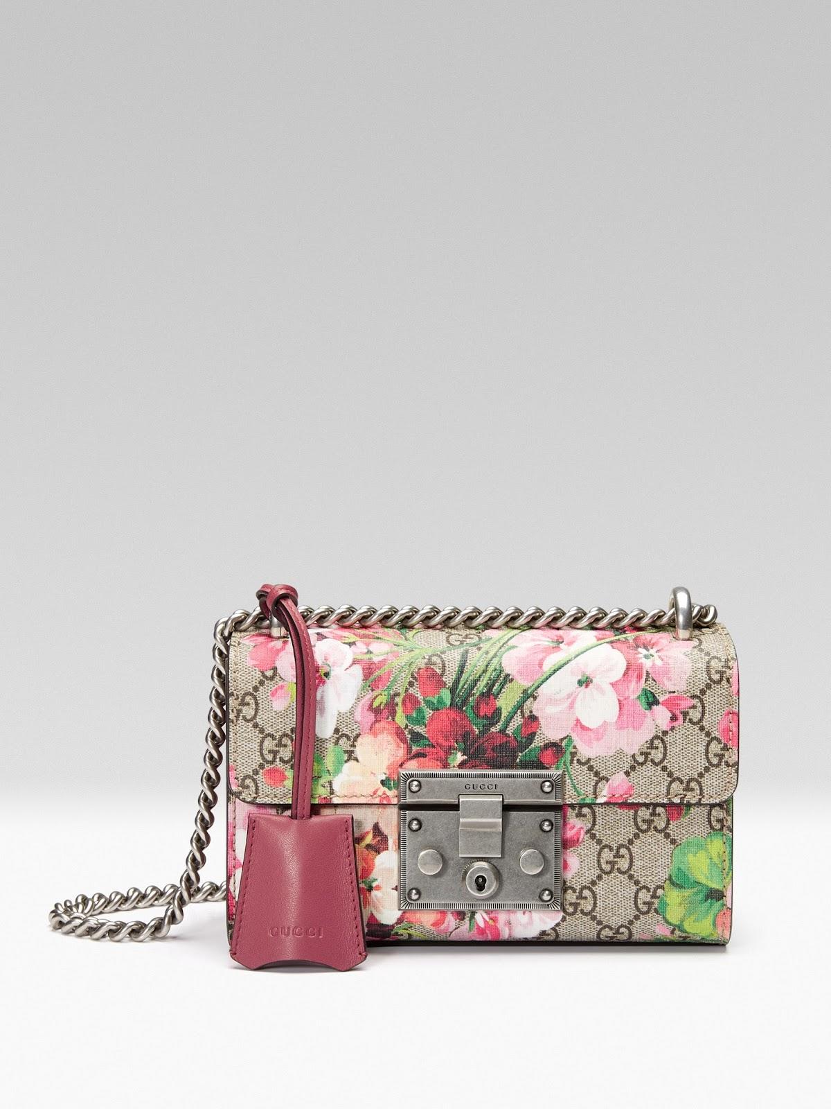 Gucci's Padlock Shoulder Bag