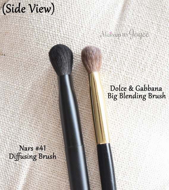 Nars #41 Diffusing Brush Dolce & Gabbana The Big Blending Brush Review