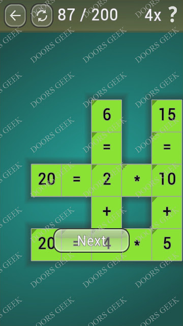 Math Games [Beginner] Level 87 answers, cheats, solution, walkthrough for android