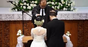 acara pemberkatan pernikahan kristen
