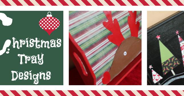 Surf2create Christmas Tray Designs