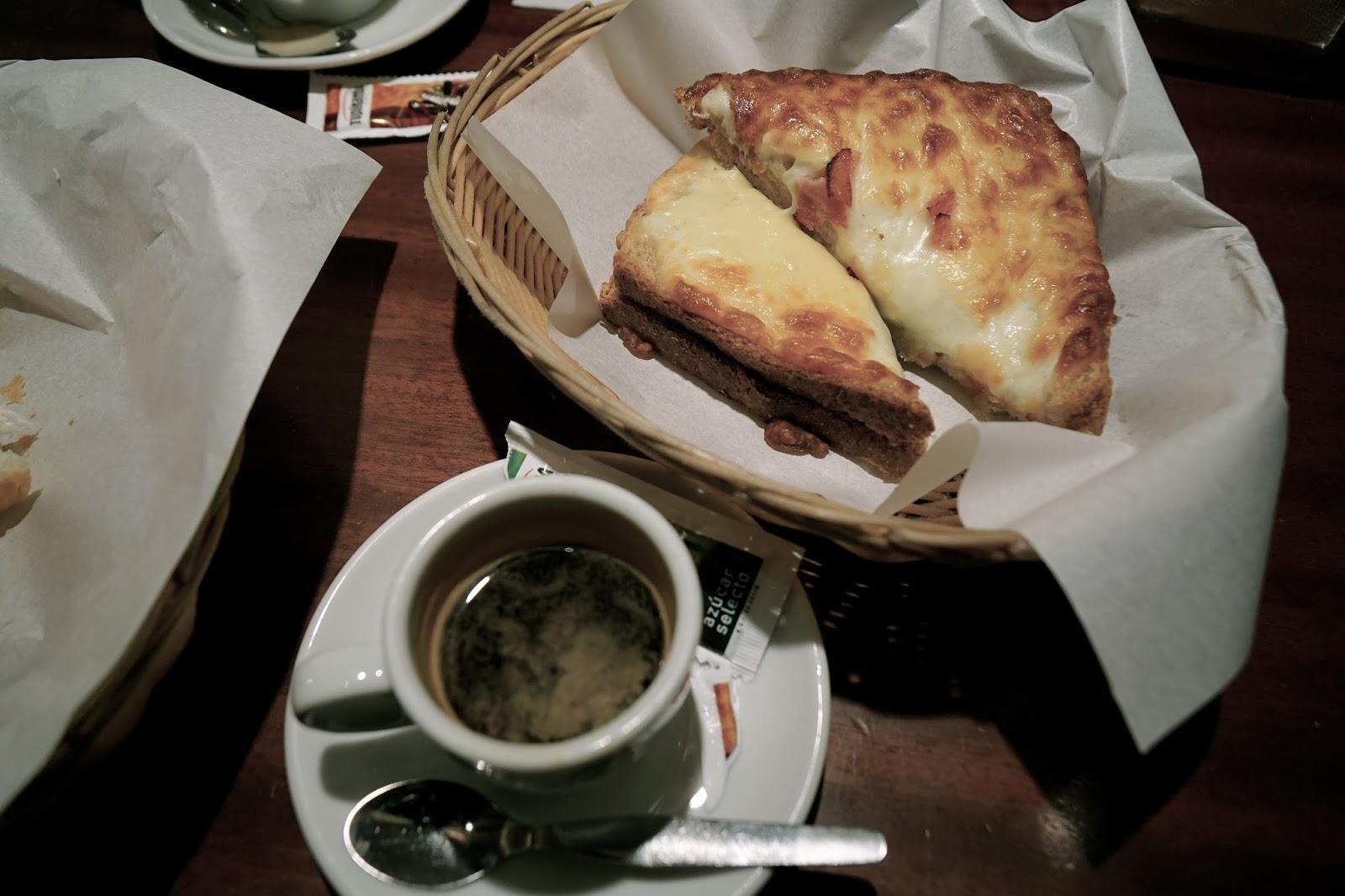 Croissanterie del Pi  クロックムッシュ