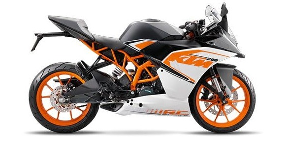 Motor KTM RC 200