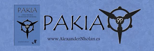 Cabecera del libro Pakia: Cómo ser feliz sin necesidad de dioses