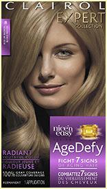 Nice'n Easy Age Defy Permanent Hair Dye Medium Blonde 8