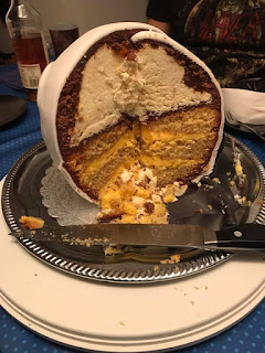 Nightmare bevor Christmas Jack Skellington - Torte Rezept
