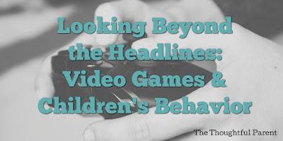 Video Games and Children's Behavior