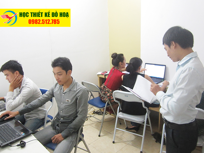 Lớp học photoshop cùng Mr Dương vui tính