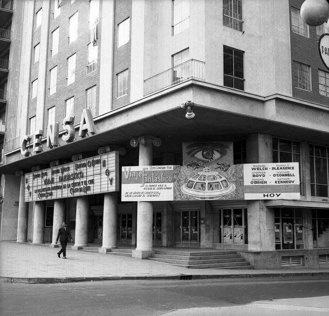 Espectacular esta foto del Cine Censa en 1967