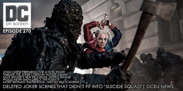 DC on SCREEN #270 Deleted Joker Scenes That Didn't Fit Into 'Suicide Squad' | DCEU News