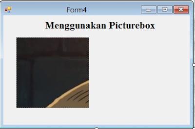 Menggunakan PictureBox