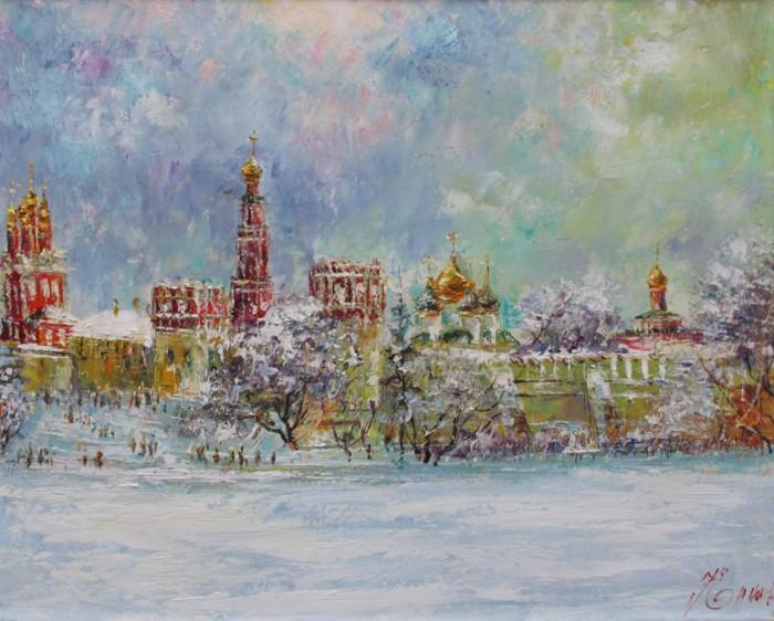 Российский художник. Еникеев Юнис