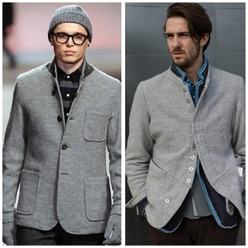 b17d54758f A cor que irá predominar na moda inverno 2013 para homens é o preto