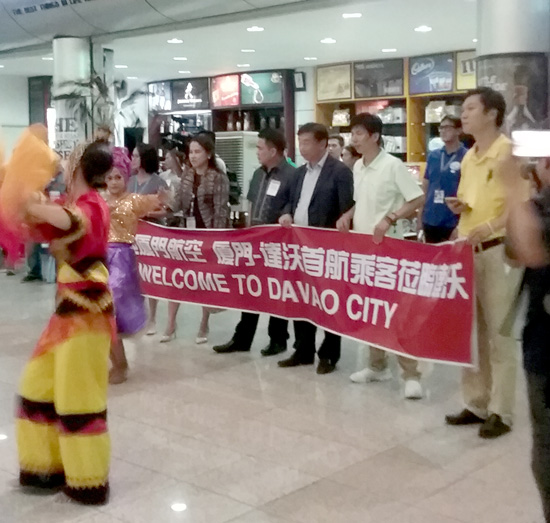 XIAMEN AIR FLIES DIRECT TO DAVAO