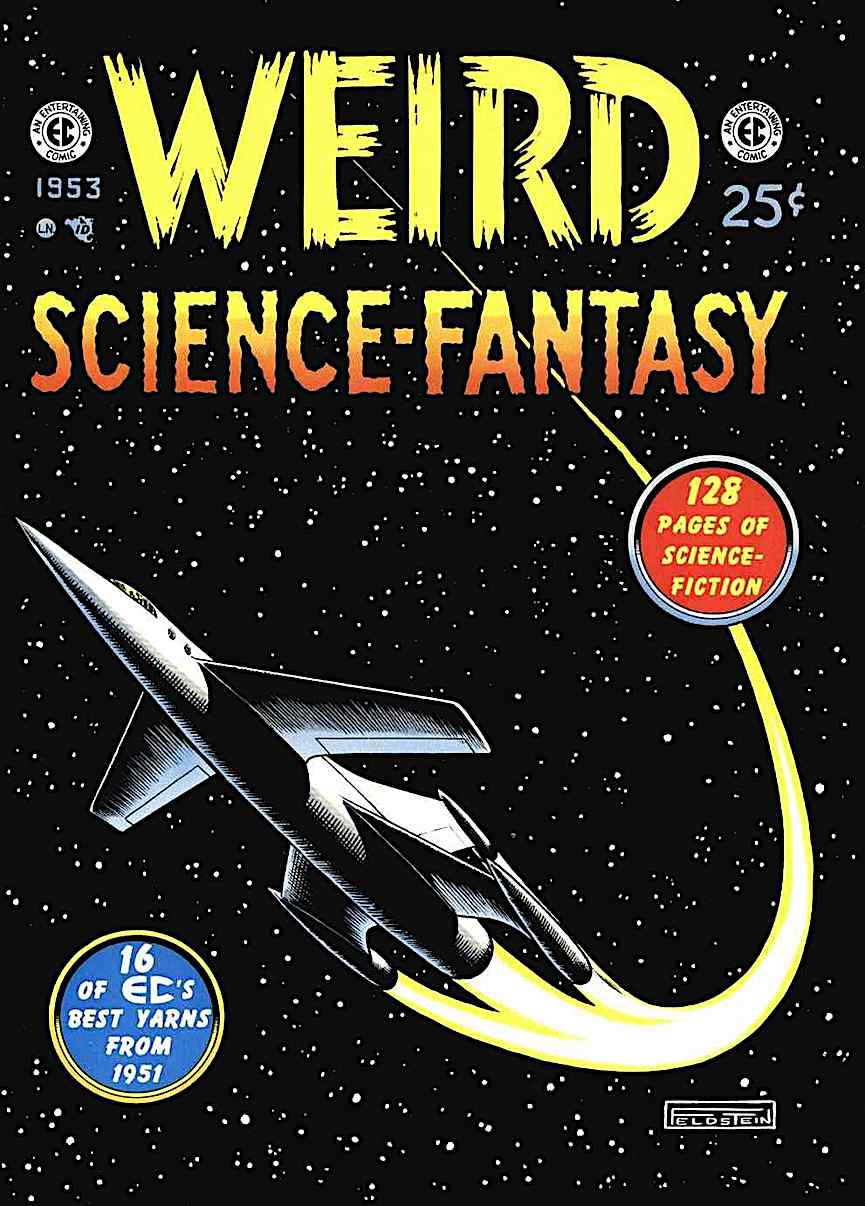 Al Feldstein for 1953 comic book Weird Science-Fantasy
