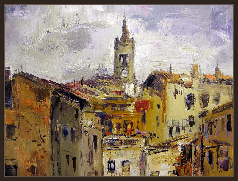 Venta pintura pintor ernest descals berga ciudades - Ciudad de berga ...