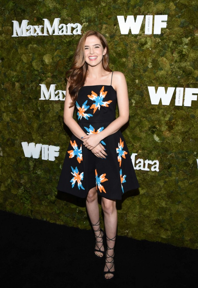 Zoey Deutch – Max Mara Women In Film Face Of The Future Award Event in West Hollywood