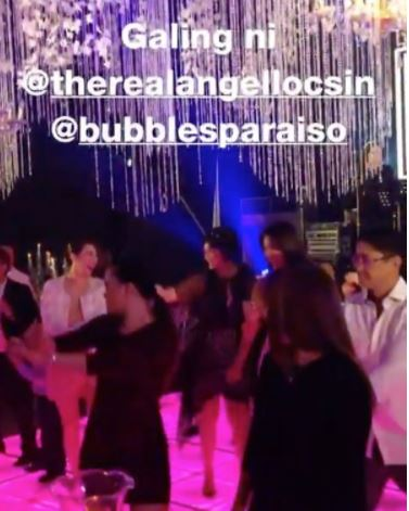 'Yung Biglang nagwalk out bigla ata nahiya?' - Netizen Commented As Angel Locsin Walked Out In The Middle Of A Dance With Bubbles Paraiso! WATCH IT HERE!