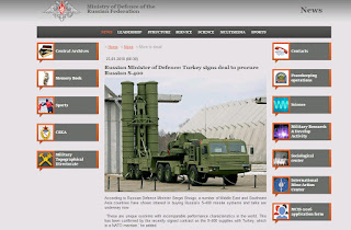 Russia's S-400 Supplies to Turkey Will Not Be Affected by Sanctions