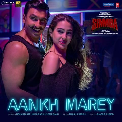 Simmba movie song ankh mare