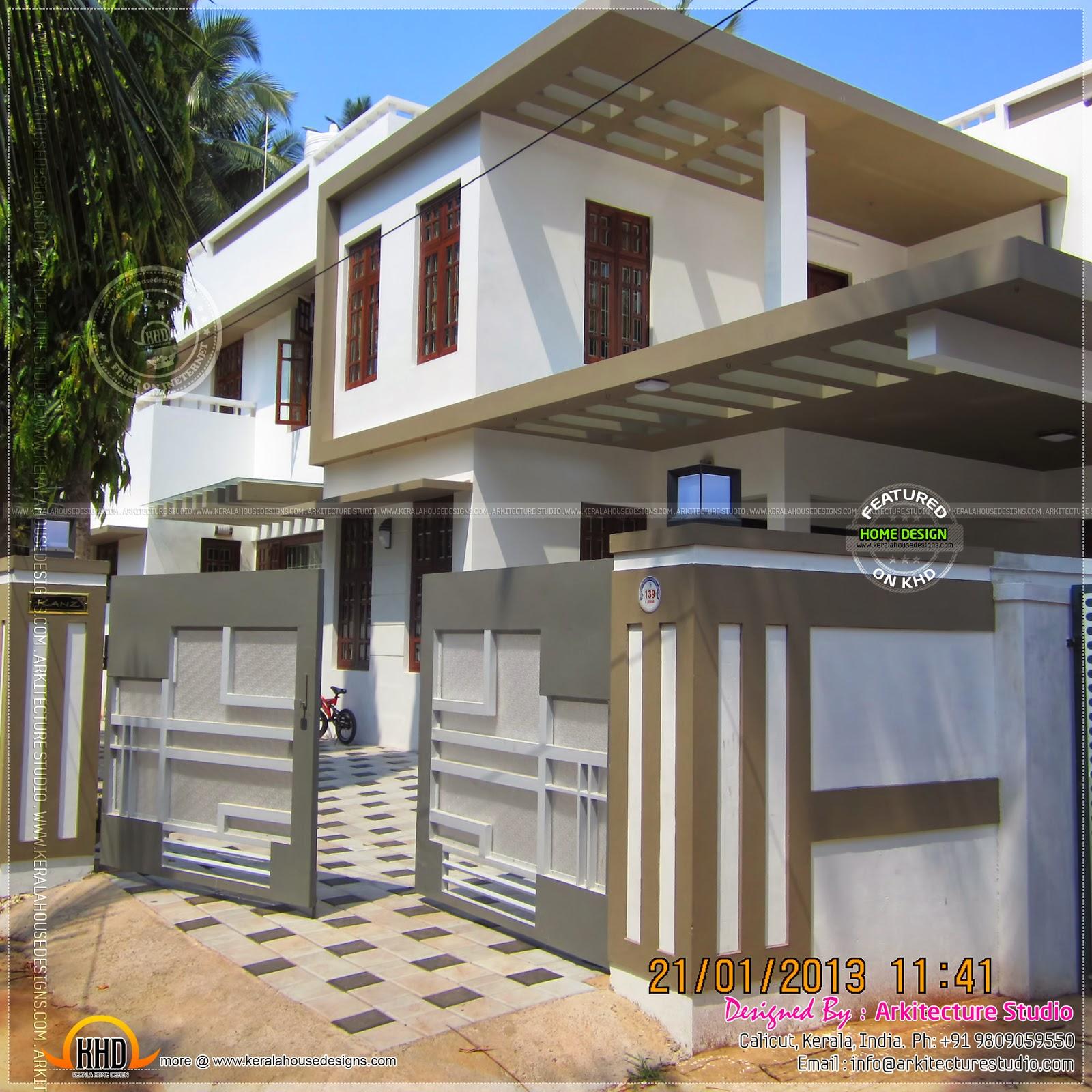 Kerala Home Design: Original House Photo