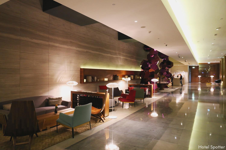 InterContinental Dubai Marina - recenzja hotelu - lobby