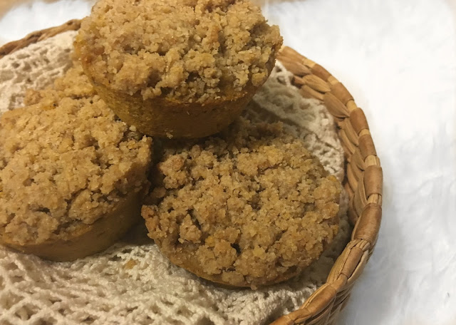 IMG 2752 - Natural Pumpkin Muffins with Streusel Topping
