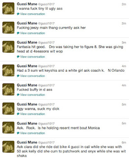 Gucci Mane Twitter Rant Tiny Young Jeezy Ciara