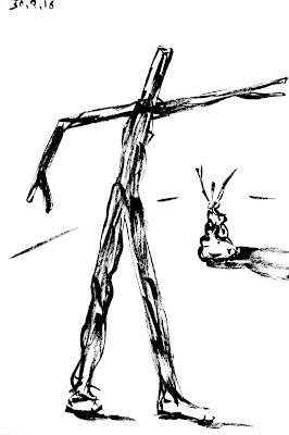 """""""Emilio Gallego, artista, dibujo"""""""