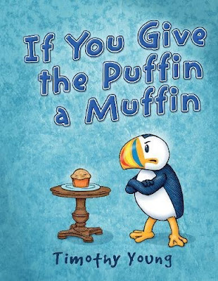 "In a follow-up to The Angry Little Puffin the Puffin is back and he still isn't happy. When the narrator offers the Puffin a muffin, he kindly says, ""No thank you,"" and explains that puffins do not eat muffins. However, the narrator keeps pressing and Puffin's responses go from polite to annoyed. And when Puffin realizes he is in another book without his permission just because puffin and muffin rhyme, he gets angry! He schemes and calls upon friends to get him out of the book. When those attempts don't work, he confronts the author directly to let him know what he thinks of this story he is in.   With it's fantastic illustrations and a main character full of personality and opinions, kids will love If You Give the Puffin a Muffin. It is sure to be a new favorite!  #IfYouGiveThePuffinAmuffin #NetGalley #PictureBook #ChildrensLit #SchifferKids"