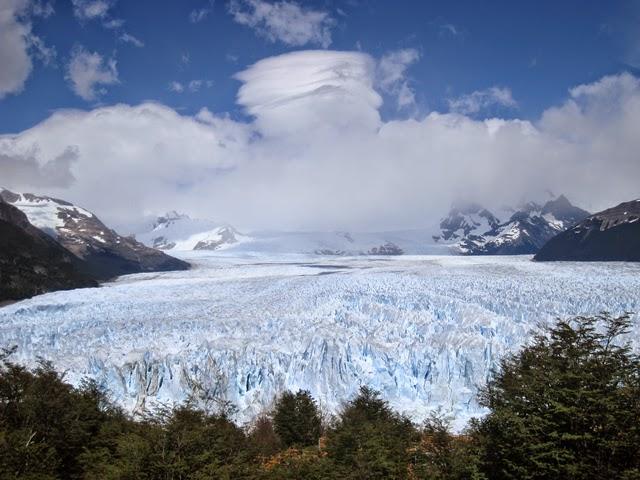 La lengua del glaciar, sin fin